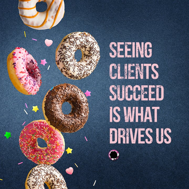 Seeing clients succeed is what drives us